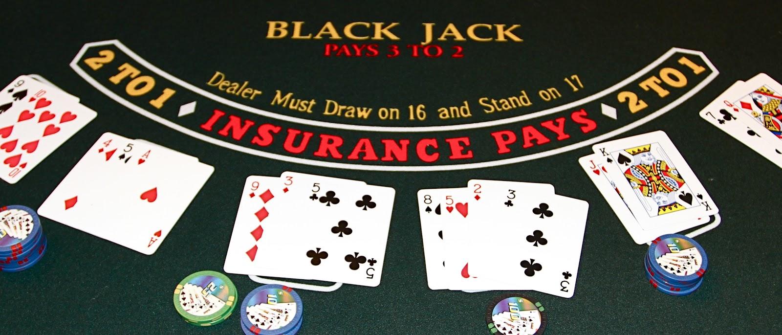 Le blackjack pour remporter la cagnotte